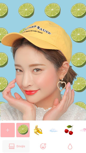 Emoji-Chan ud83cudf51 : Emoji Backgrounds Photo Editor 2.0 Screenshots 2
