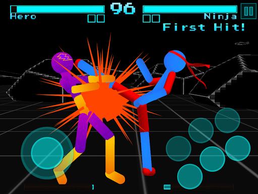 Stickman Fighting: Neon Warriors screenshots 5