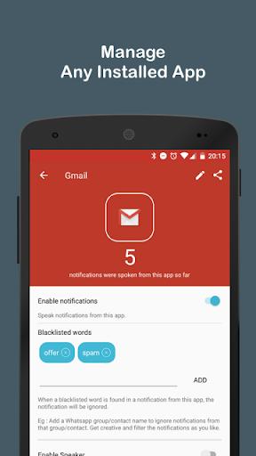 Audify Notifications Reader 3.5.0 Screenshots 12