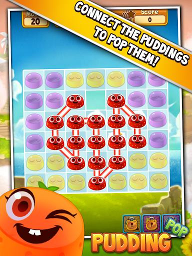 Pudding Pop - Connect & Splash Free Match 3 Game screenshots 11