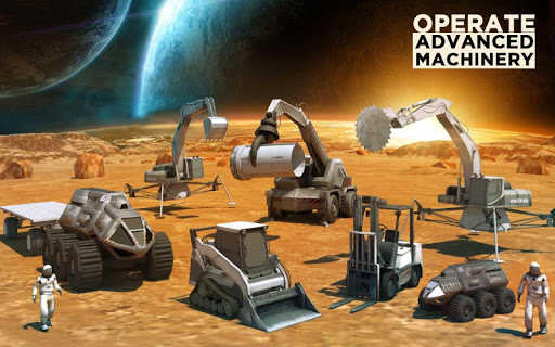 Space Station Construction City Planet Mars Colony  screenshots 10