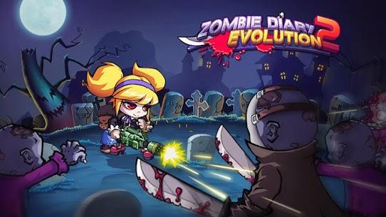 Baixar Zombie Diary 2 Evolution MOD APK 1.2.4 – {Versão atualizada} 5