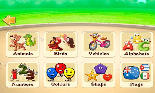 kids learning game - preschool child activities screenshot 1