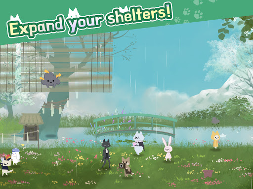 Cat Shelter and Animal Friends: Idle Relaxing Game  screenshots 12