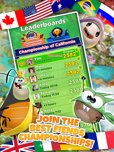 Best Fiends - Free Puzzle Game modavailable screenshots 12