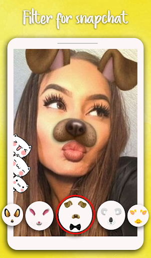 Filter for Snapchat - Sweet Snap Camera 1.0 Screenshots 6