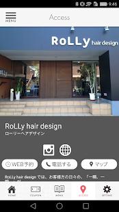 -RoLLy hair design- u30edu30fcu30eau30fcu30d8u30a2u30c7u30b6u30a4u30f3 2.20.0 screenshots 5