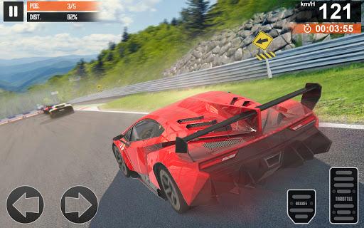 Super Car Racing 2021: Highway Speed Racing Games apkdebit screenshots 1