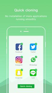 Dual Space Lite VIP MOD APK – Multiple Accounts & Clone App 3