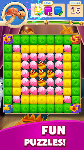 Toy Cubes Blast:Match 3 Puzzle Games  screenshots 2