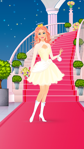 Wedding Dress Up - Bride makeover  screenshots 2