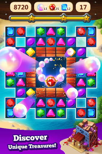 Jewel Rush - Free Match 3 & Puzzle Game 2.3.2 screenshots 10