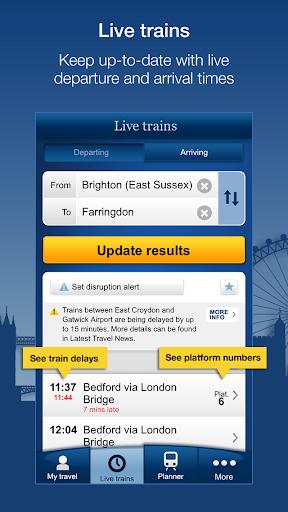 National Rail Enquiries 9.4.9 Screenshots 1