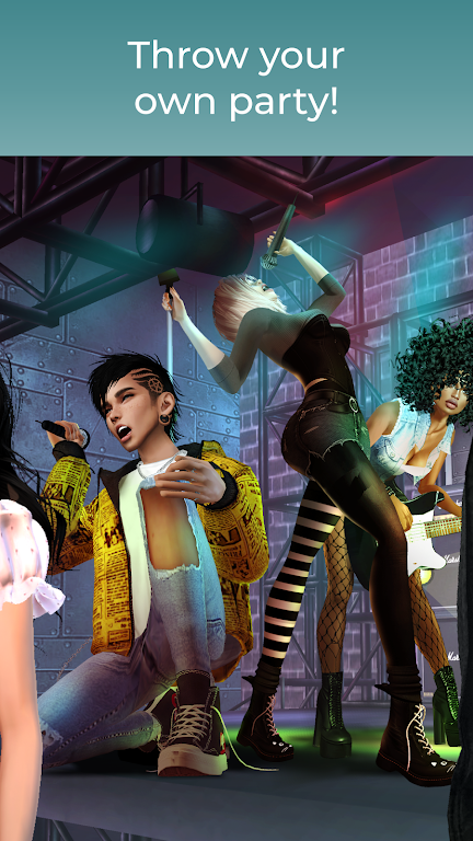 IMVU: chat, friendship, romance in a virtual world  poster 2