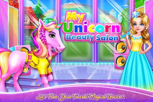 My Unicorn Beauty Salon 1.0.9 Screenshots 1