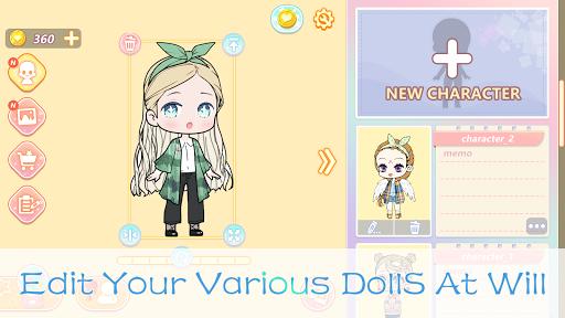 YOYO Doll - dress up games, avatar maker  screenshots 8