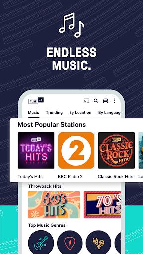 TuneIn Radio: News, Sports & AM FM Music Stations screenshots 8