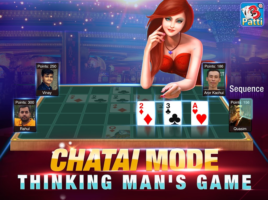 Teen Patti by Octro - Online 3 Patti Game poster 0