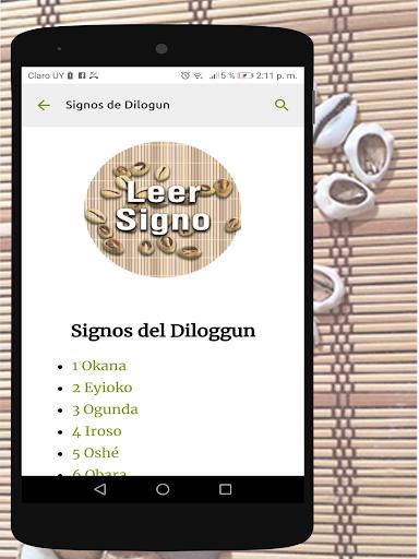 Signos del Diloggun 2.2 Screenshots 5