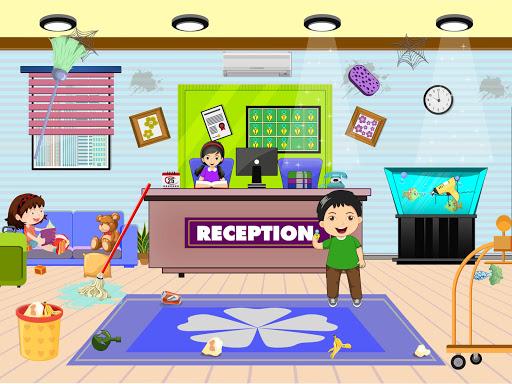 Pretend Play Hotel Cleaning: Doll House Fun 1.1.5 screenshots 4