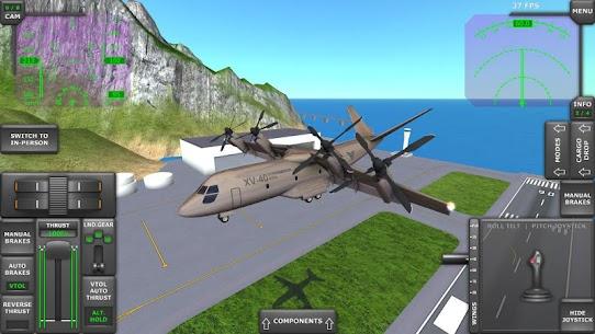 Turboprop Flight Simulator 3D MOD APK 1.26.2 (Unlimited Money) 4