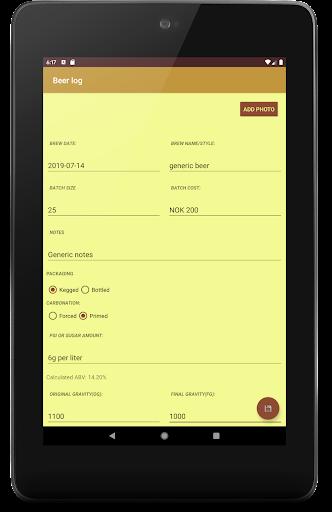 Homebrew Logbook - Beer, Wine, Cider, Mead 3.0.0-free screenshots 11