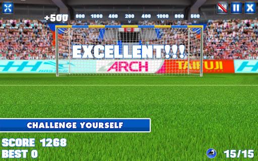crossbar challenge screenshot 3