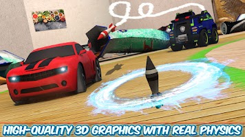 Road  Revenge Table Top Car Racing & Shooting Game