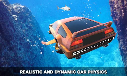 Floating Underwater Car Simulator apklade screenshots 1