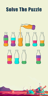 Watery Bottle - Water Color Sort Puzzle Game