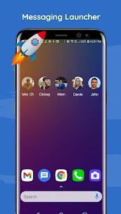 Messenger Lite – SMS Launcher Apk 3