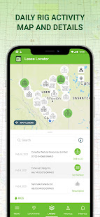 Lease Locator for Energy & Oilfield LSD NTS GPS
