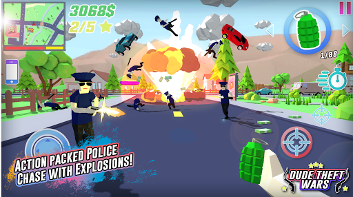 Télécharger Gratuit Dude Theft Wars: Open World Sandbox Simulator BETA  APK MOD (Astuce) screenshots 1