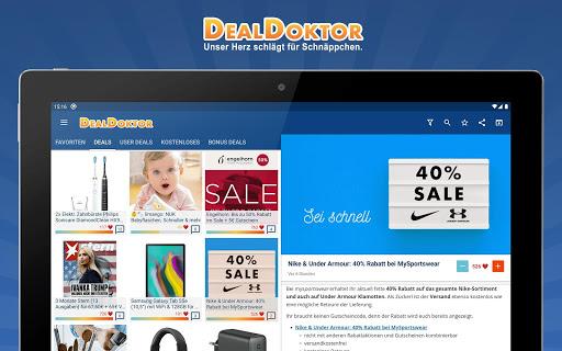 DealDoktor » Schnäppchen, Kostenloses, Gutscheine  screenshots 16