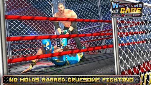 Wrestling Cage Championship : WRESTLING GAMES 6.5 screenshots 4