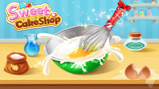 ud83cudf70ud83dudc9bSweet Cake Shop - Cooking & Bakery  screenshots 2