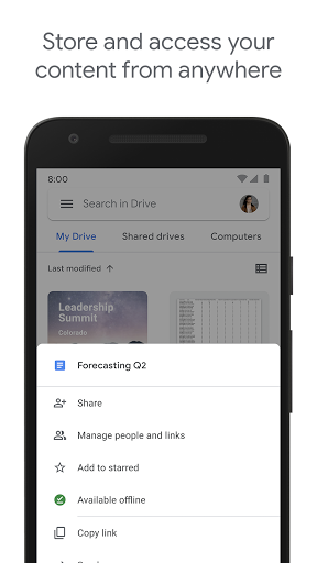 Google Drive 2.21.061.04.40 screenshots 1