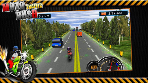 Moto Traffic Rush3D modavailable screenshots 2