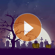 Animated Halloween weather backgrounds add-on