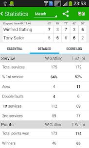 Tennis Math  score keeper and statistics tracker 4