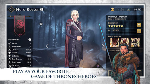 Game of Thrones Beyond the Wall™ modiapk screenshots 1