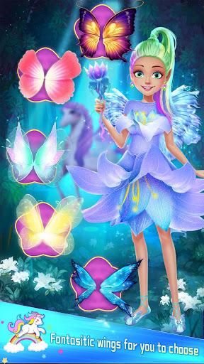 ud83dudc78Rainbow Princess & Unicorn Makeup - Fashion Trip 1.8.5038 screenshots 7