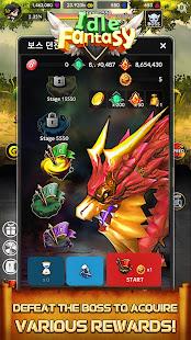 Idle Fantasy : Merge clicker RPG