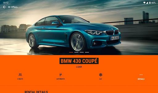 SIXT: Car rental, Carsharing & Taxi 9.40.2-10277 Screenshots 9