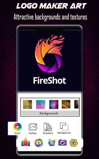 Logo Maker Free - 3D Logo Creator, Logo Design Art 1.3 Screenshots 4