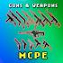 🔫 MCPE 3D Guns & Weapon Mod