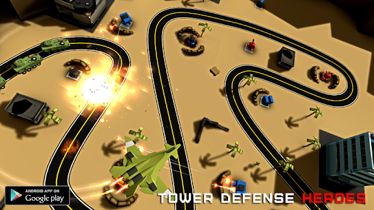 Tower Defense Heroes 1.6 APK with Mod Free 2