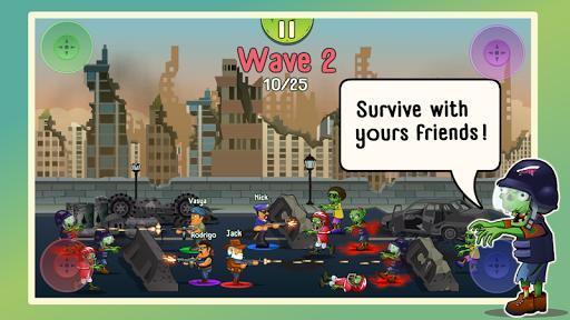 Four guys & Zombies (four-player game) 1.0.2 screenshots 1