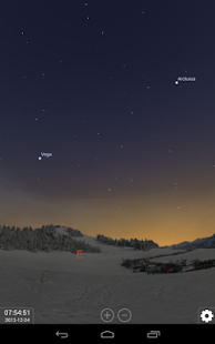 Stellarium Mobile Sky Map Screenshot
