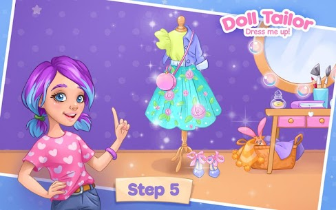 Fashion Dress up games for girls. Sewing clothes 6